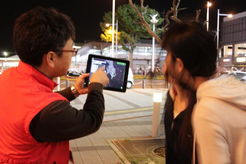 iPadで星座解説