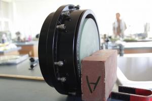 対物レンズ+平面鏡