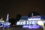 周囲を飾るクリスマスイルミネーション