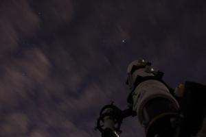木星と望遠鏡