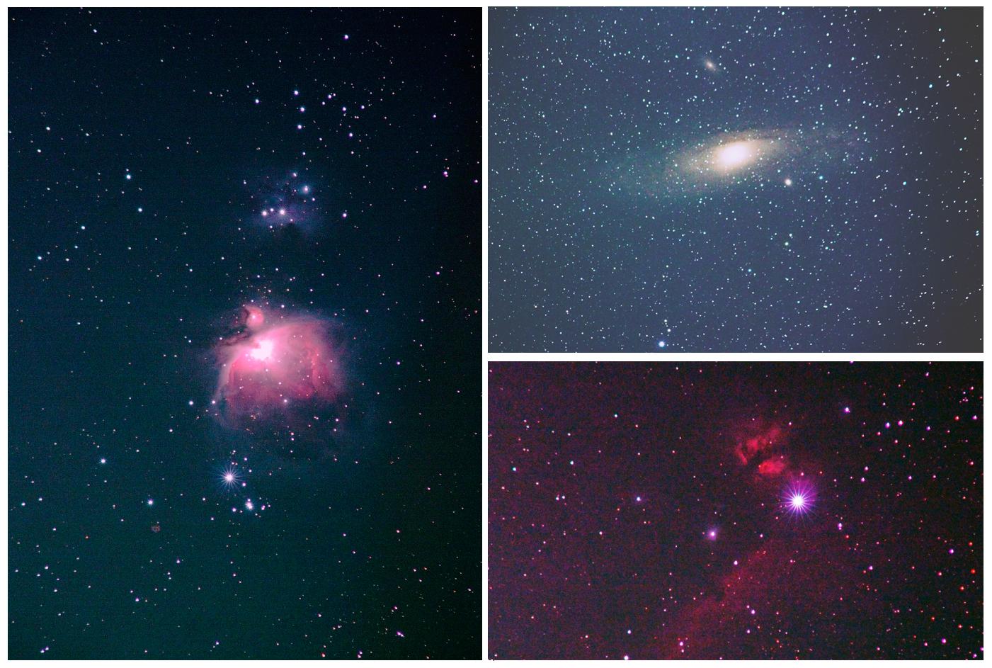 星雲と銀河