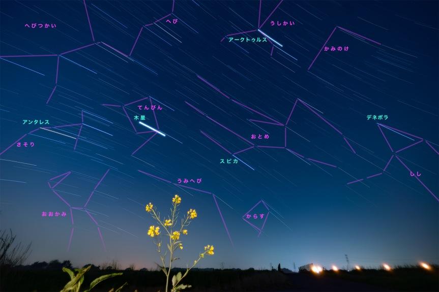 春の星図s